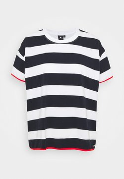 Luhta - AHMOO - T-Shirt print - dark blue