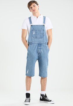 Urban Classics - DUNGAREE - Peto - bleached blue