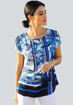 Alba Moda - Bluse - marineblau,blau,off-white