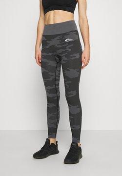 Smilodox - SEAMLESS LEGGINGS RESERVE - Trikoot - black