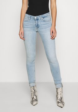 Calvin Klein Jeans - LOW RISE SKINNY - Jeans Skinny Fit - bleached blue