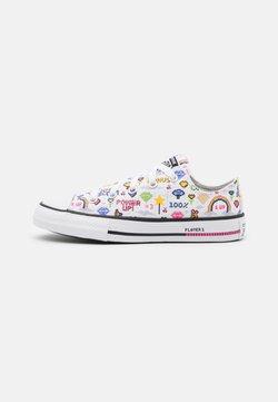 Converse - CHUCK TAYLOR ALL STAR GAMER UNISEX - Zapatillas - white/black/bold pink
