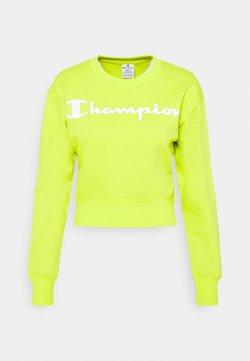 Champion - CREWNECK LEGACY - Collegepaita - neon yellow