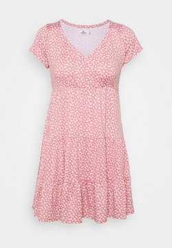 Hollister Co. - DRESS - Vestido ligero - canyon rose