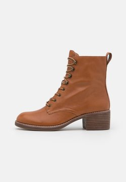 Madewell - PATTI LACE UP BOOT - Schnürstiefelette - english saddle