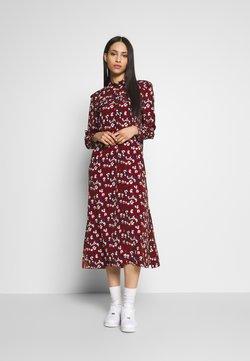 Topshop Tall - TRAPEEZE - Maxi dress - burgundy