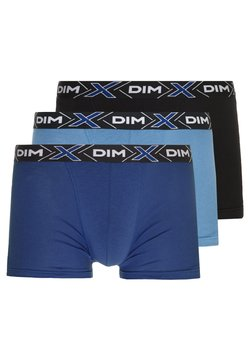 DIM - X-TEMP 3 PACK - Shorty - blue jean/blue/black