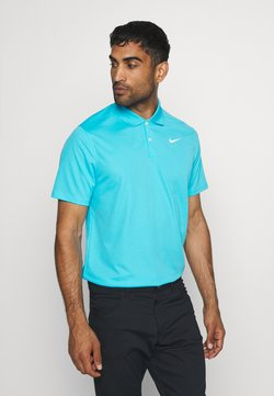 Nike Golf - DRY VICTORY SOLID - Funktionsshirt - blue fury/white
