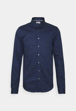 Calvin Klein Tailored - NATURAL EXTRA SLIM - Businesshemd - navy