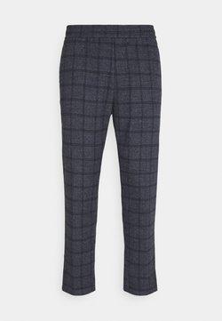Casual Friday - PILOU CHECKED PANT - Stoffhose - navy blazer