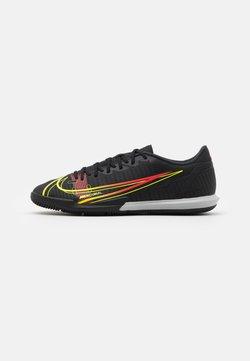 Nike Performance - MERCURIAL VAPOR 14 ACADEMY IC - Zaalvoetbalschoenen - black/cyber/off noir