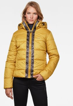 G-Star - MEEFIC HOODED PADDED  - Winterjacke - green sulphur