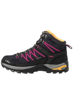 CMP - RIGEL MID TREKKING SHOE WP - Hiking shoes - antracite/bounganville