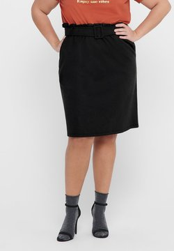ONLY Carmakoma - CURVY  - A-Linien-Rock - black
