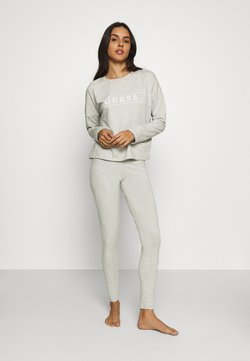 Guess - LONG - Pyjama - light heather grey