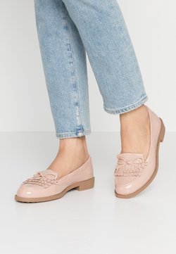 Dorothy Perkins Wide Fit - WIDE FIT LETTY LOAFER - Slip-ons - blush
