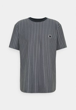 Woodbird - JABI MILK STRIPE TEE - T-Shirt print - navy