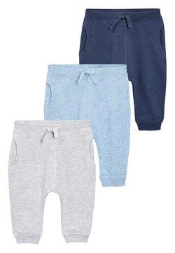 Next - 3 PACK - Pantalones - grey/blue
