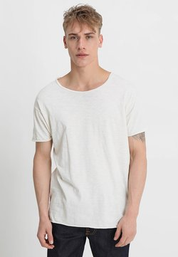 Nudie Jeans - ROGER - T-shirt - bas - offwhite