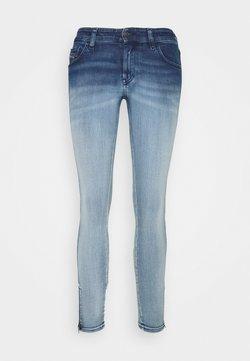 Diesel - SLANDY-LOW-ZIP - Jeans Skinny Fit - bleached indigo