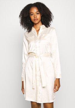 Noisy May - NMSEREN DRESS - Skjortekjole - beige