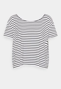 Molly Bracken - LADIES TEE - T-Shirt print - offwhite/black
