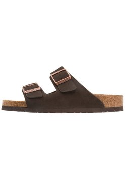 Birkenstock - ARIZONA SOFT FOOTBED NARROW FIT - Tofflor & inneskor - mocca
