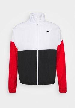 Nike Performance - STARTING - Trainingsjacke - white/black/university red