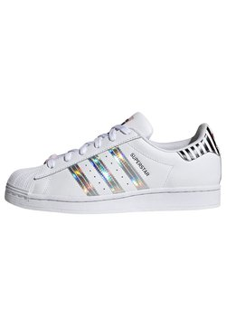 adidas Originals - SUPERSTAR W - Sneakers - ftwwht/trupnk/cblack