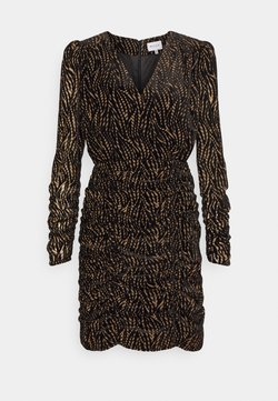 Milly - FINLEY LEAVES DRESS - Cocktail dress / Party dress - natural/black