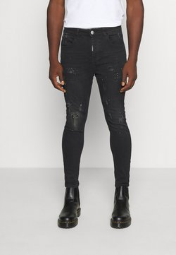 Alessandro Zavetti - Jeans Tapered Fit - black