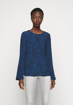 Gap Tall - PINTUCK - Bluse - blue floral