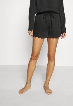 Underprotection - JANE SHORTS - Pyjama bottoms - black