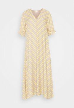 Modström - CLEMENTINE PRINT DRESS - Freizeitkleid - yellow