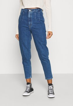 Levi's® - HOLLYWOOD WB HW TAPER - Relaxed fit jeans - blue denim