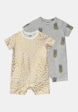 Cotton On - 2 PACK UNISEX - Jumpsuit - gold
