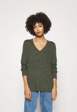 GAP - BROOKLYN  - Pullover - olive heather