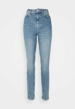 PIECES Tall - PCLEAH MOM - Jeans baggy - light blue denim