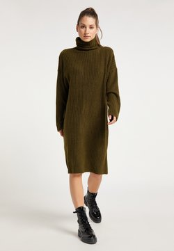 myMo - Vestido de punto - oliv