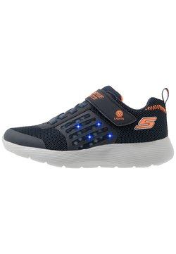 Skechers - DYNA-LIGHTS - Sneaker low - navy/orange