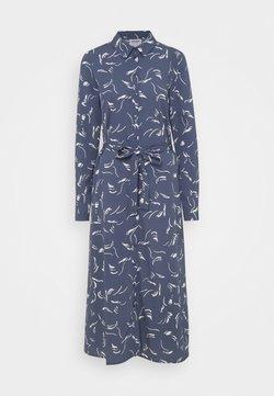 Vero Moda - VMODEA CALF DRESS  - Vestido largo - vintage indigo/ birch