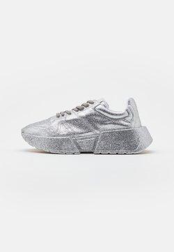 MM6 Maison Margiela - GLITTER FINE - Sneakers - silver