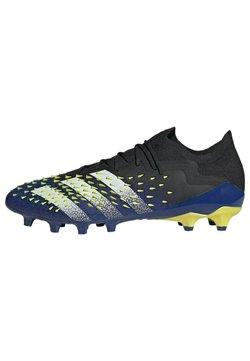 adidas Performance - PREDATOR FREAK.1 AG FUSSBALLSCHUH - Botas de fútbol con tacos - black