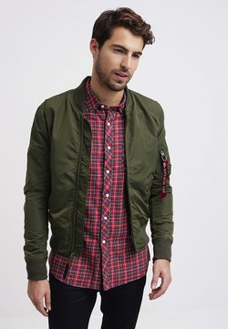 Alpha Industries - Giubbotto Bomber - dark green
