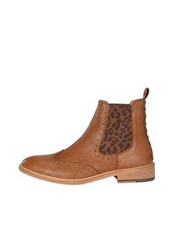 Crickit - CHELSEA BOOT MIKA MIT LEO - Ankle Boot - braun