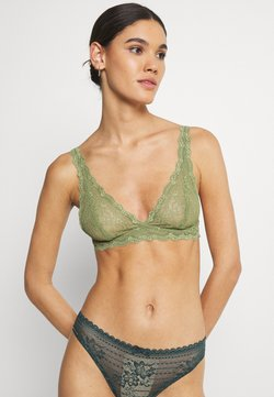 Monki - LONNIE BRA - Triangel BH - khaki/green medium dusty unique