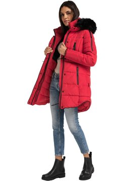 Marikoo - MOONSHINE - Wintermantel - red