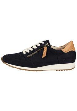 Paul Green - Sneaker low - blau/mittelbraun 107