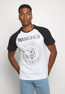 Only & Sons - ONSRAMONES FRONT PRINT TEE - T-Shirt print - white