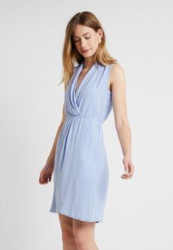 Esprit Collection - MATT SHINY FLUI - Freizeitkleid - blue lavender